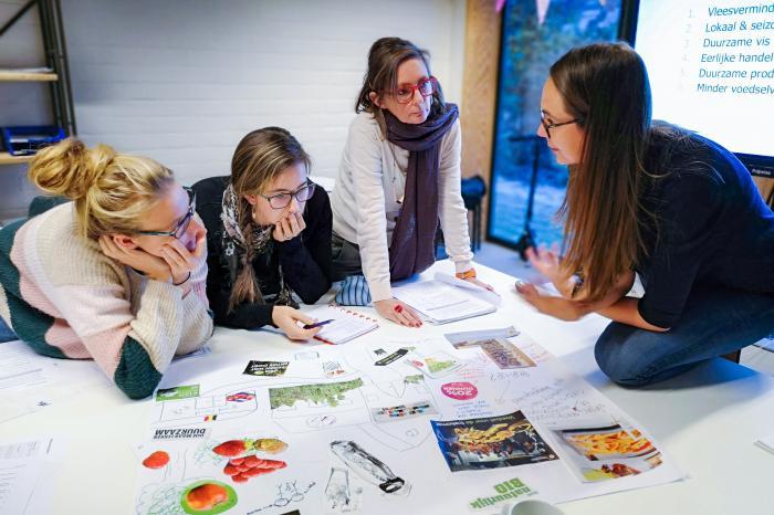 Tweede sessie leertraject Duurzame voeding op school in West-Vlaanderen