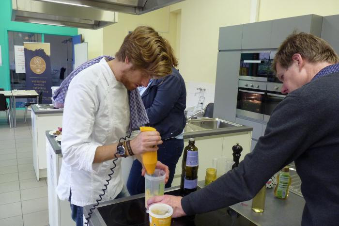 Pieter-Jan Lint geeft masterclass 'plantaardige keuken'