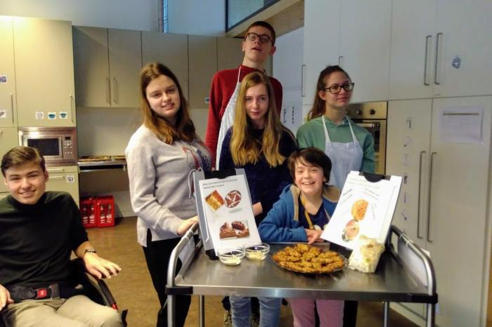 Leerlingen van BuSo Sint-Gerardus zetten hun tanden in de GoodFood Challenge