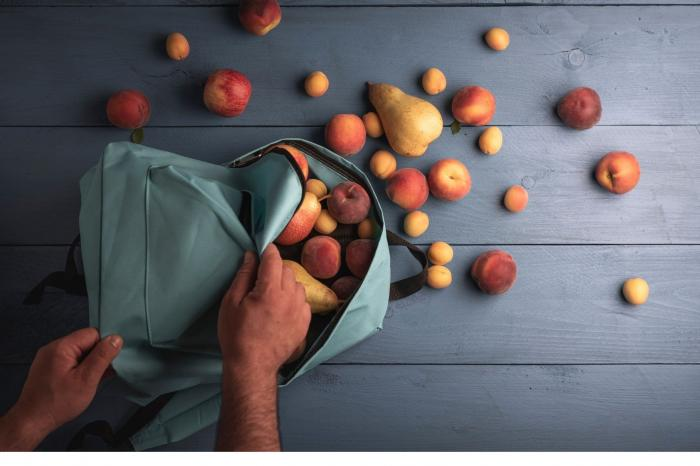 Fruit en groenten als tussendoortje?