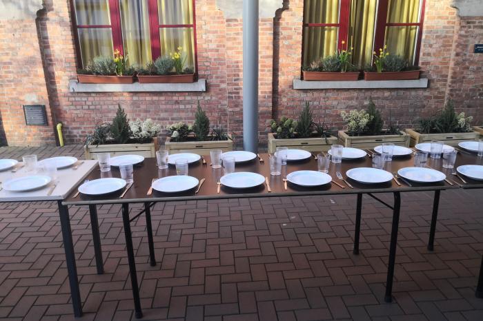 Voedselverlies op het Sint-Pietersinstituut in Gent