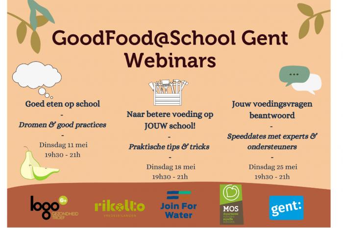 De Gentse School Food Council aan zet!
