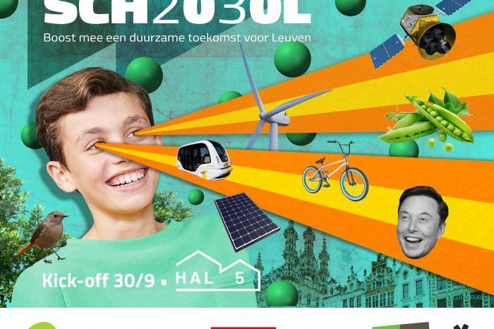 SCH2030L project voor Leuvense duurzame scholen