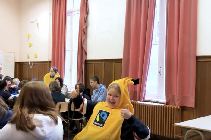 Een hele schooldag rond duurzame voeding in Leuven