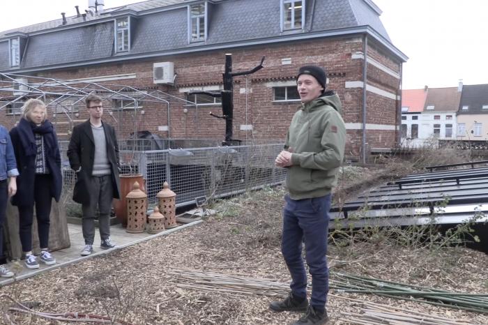 Gentse GoodFoodies ontdekken dakboerderij Roof Food