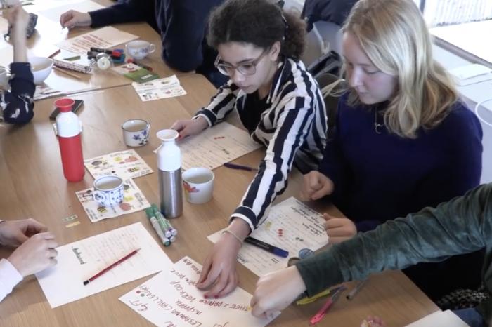De Gentse GoodFoodies werken acties uit voor hun school