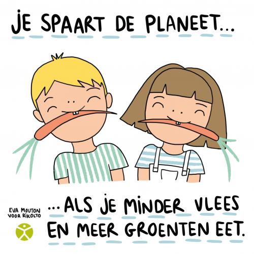 Op naar GoodFood@School Challenge 4: Meer plantaardig, minder vlees