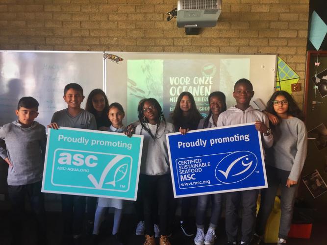 GoodFood@School Challenge 1: duurzame vis