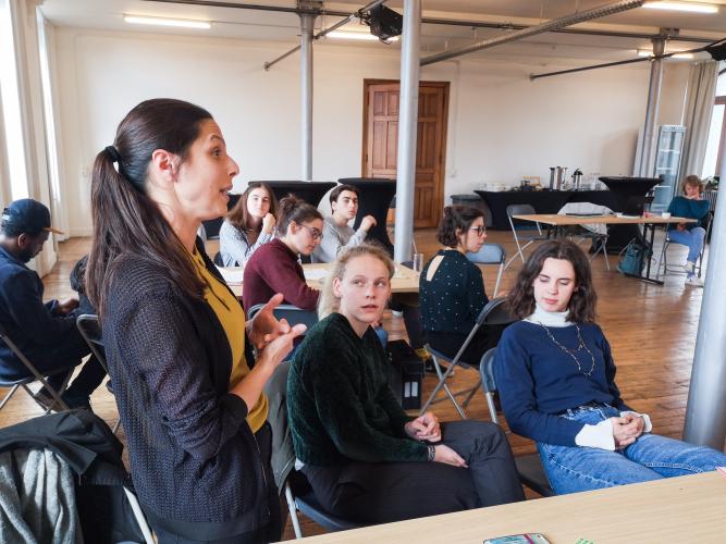 Schepen van onderwijs Lalynn Wadera deed inspiratie op uit de aanbevelingen van de jongeren.